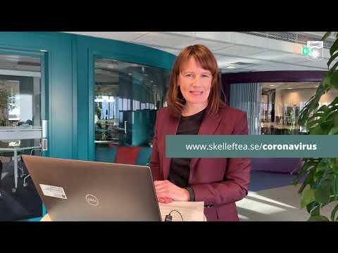 Kristina Sundin Jonsson informerar om det aktuella läget, onsdag 10 februari