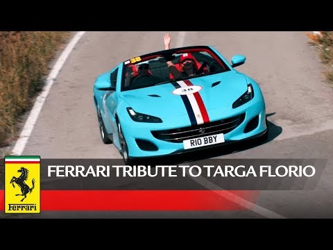 Ferrari Tribute to Targa Florio 2019