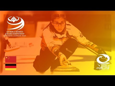 China v Germany - round robin - LGT World Women's Curling Championships 2019