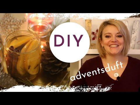 DIY Advents- und Weihnachtsduft selber machen