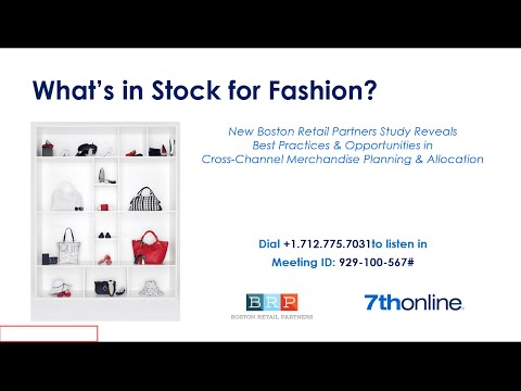 What's in Stock for Fashion?