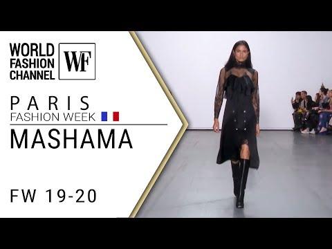 MASHAMA Fall-winter 19-20 Paris fashion week