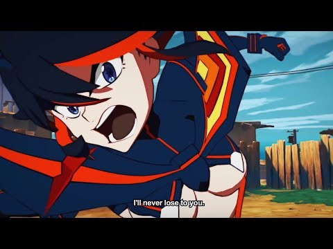 KILL LA KILL: THE GAME OFFICIAL ANIME EXPO GAMEPLAY REVEAL TRAILER