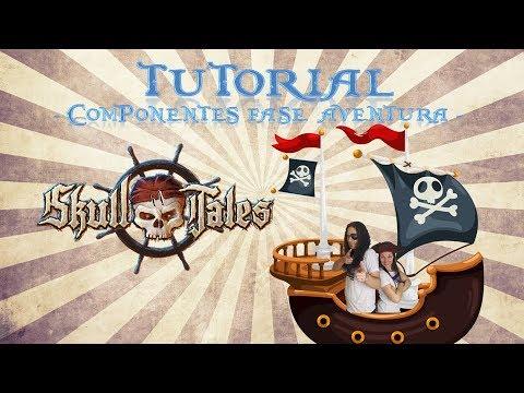 Skull Tales - Fase Aventura - Componentes (Tutorial 04) - Yo Tenía Un Juego De Mesa #49