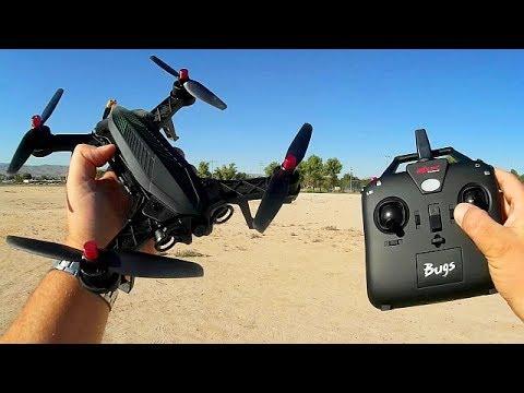 MJX Bugs 6 Full FPV Racer Version Flight Test Review - UC90A4JdsSoFm1Okfu0DHTuQ