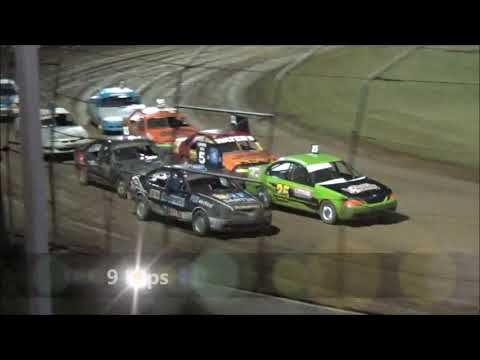 RSA Street Stockers Feature - Lismore Speedway - 13.01.18 - dirt track racing video image