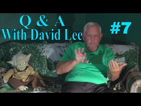 Q & A With David Lee | Why doesn't everyone use the Gravity Golf Swing?
