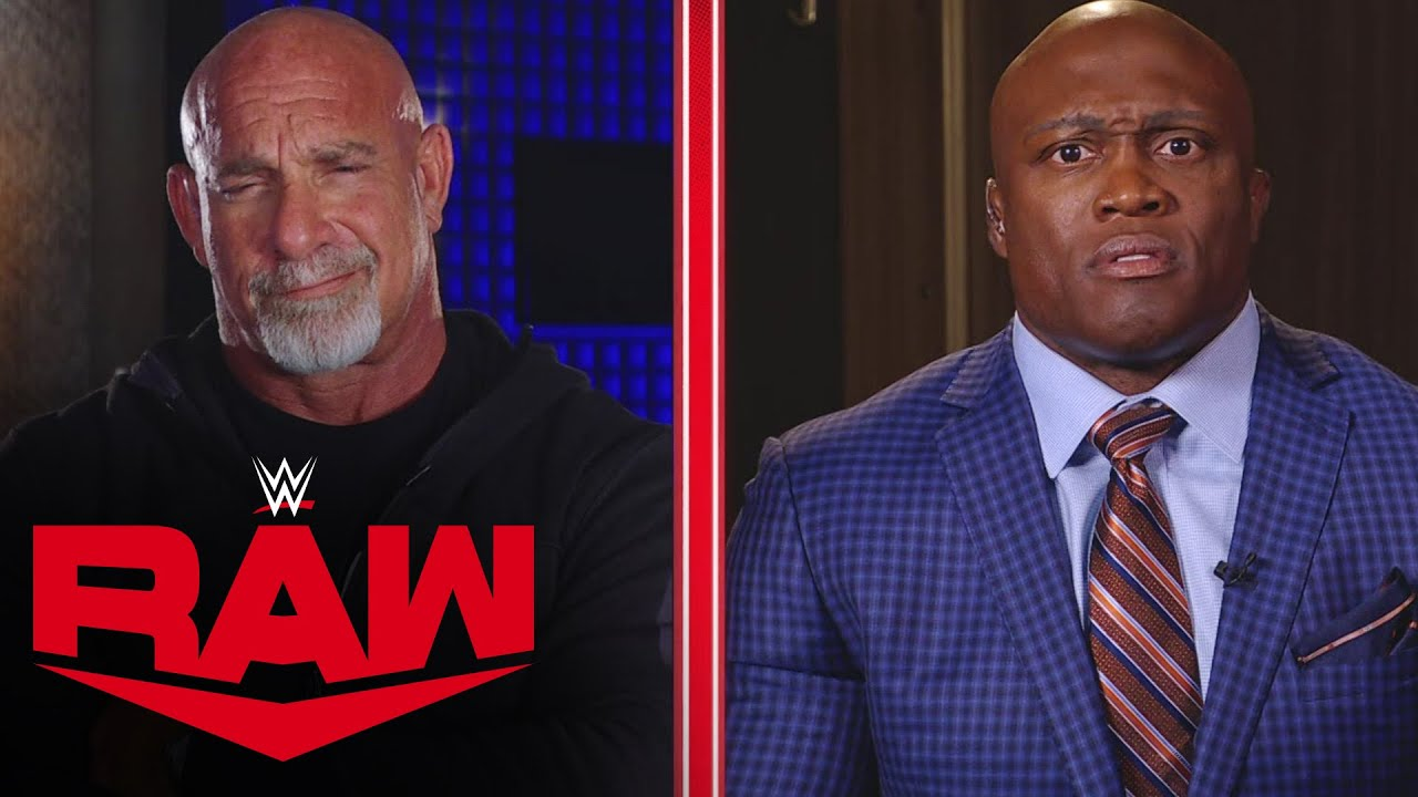 Goldberg and Bobby Lashley exchange heated words in No Holds Barred interview: Raw, Oct. 18, 2021