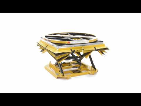 Spring Scissor Table Self Elevating Tables SST-45-ACC