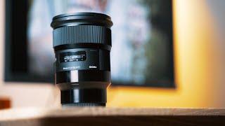 Samyang 24 mm f/1,4 pro Canon