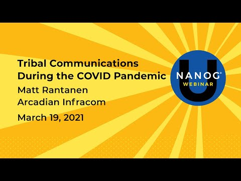 Tribal Communications During the COVID Pandemic