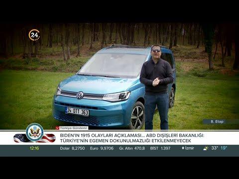Murat Öztürk ile 8. Etap / Yeni Wolkswagen Caddy – 01 05 2021