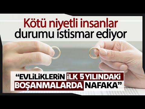 """Avukat Özkan Yıldırım: """"Evliliklerin İlk 5 Yılındaki Boşanmalarda Nafaka Bağlanmamalı"""""""
