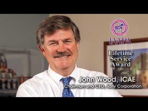 Sally Corporation | John Wood's IAAPA Lifetime Service Award