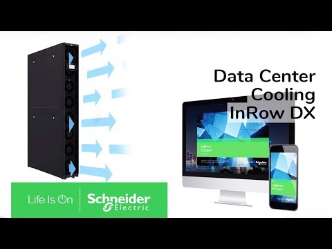 Data Center Cooling - Discover the InRow DX 30kW High Density Cooling | Schneider Electric