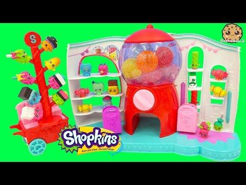 Shopkins Season 4 Sweet Spot Gumball Machine Playset with 2 Exclusives Cookieswirlc Unboxing Video - UCelMeixAOTs2OQAAi9wU8-g
