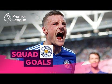 Impressive Leicester City Goals | Vardy, Mahrez, Tielemans | Squad Goals