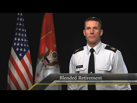 SMA Minute: Blended Retirement