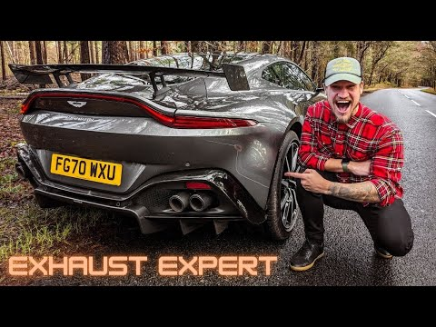 RAW Aston Martin Vantage w/ STRAIGHT PIPES!! - Exhaust Expert!