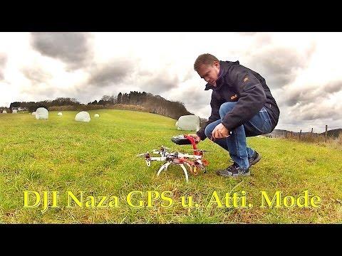 DJI NAZA // GPS Kalibrierung // GPS und Atti Flugtest //calibration, flight Test - UCNWVhopT5VjgRdDspxW2IYQ