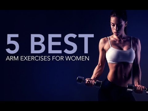 5 Best Arms Exercises for Women (SHOULDERS, BICEPS & TRICEPS!!)