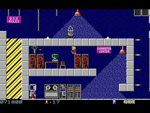 Secret Agent (Episode 2: Kill Again Island) (Apogee) (MS-DOS) [1992] [PC Longplay]