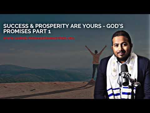 GOD WANTS YOU TO SUCCEED & PROSPER - [GODS PROMISES PART 1] WITH EVANGELIST GABRIEL FERNANDES
