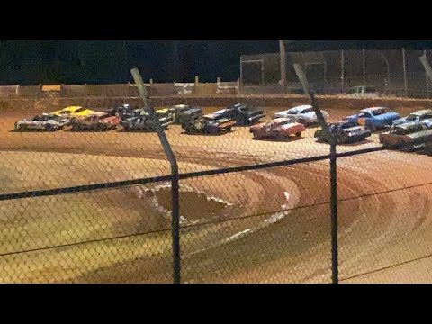6/19/2021 Pure Stock Harris Speedway - dirt track racing video image