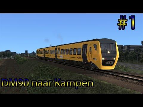 Preview!! Met de DM90 naar Kampen - Train Simulator 2017 (Livestream #1)