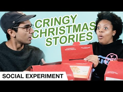Cringy Christmas Stories  Social Experiment  Elevation YTH