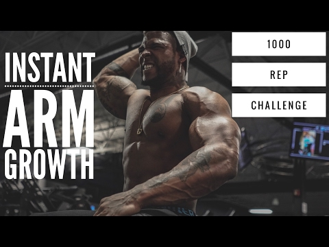 1000 Rep Arm Day Challenge | Boston Stand Up
