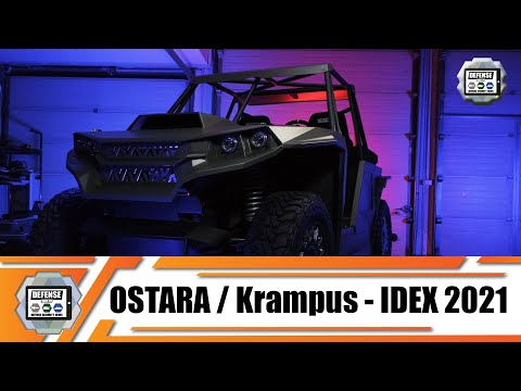 KRAMPUS buggy is a hybrid electric diesel special purpose vehicle Ostara Lithuania defense industry