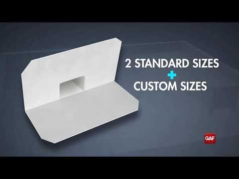 Installing EverGuard® Pre Manufactured Scupper HD