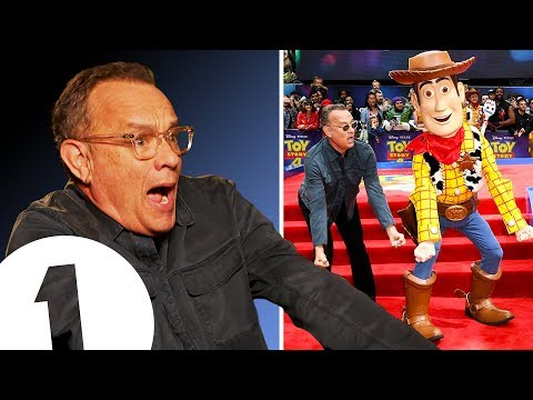 """YEEHAW!"" Tom Hanks on becoming Woody and making you cry in Toy Story 4. - UC-FQUIVQ-bZiefzBiQAa8Fw"