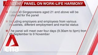 Citizens' panel on work-life harmony now open for applications