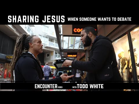 Todd White - Sharing Jesus with a Muslim