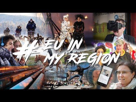 EUInMyRegion - Vad betyder EU och sammanhållningspolitiken för norra Sverige? - 2018 #21 #skellefteå