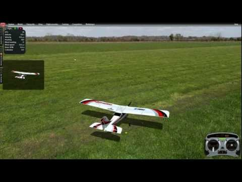 How to fly 4 channel RC airplane - UC1C0GSTYF26ZY-zThiR9dYg