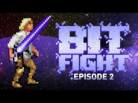 One with the Force (Star Wars Blindfold Challenge) - BIT FIGHT #2