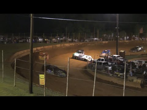 Limited Late Model at Winder Barrow Speedway July 3rd 2021 - dirt track racing video image