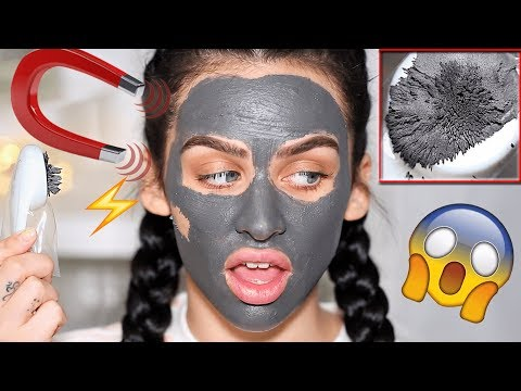 TRYING A DRUGSTORE MAGNETIC MASK! ??