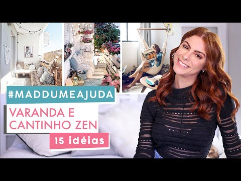Dicas Para Varanda/Cantinho Zen - Decoracão! #Maddumeajuda