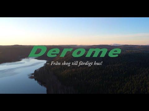 Derome - Från skog till färdigt hus
