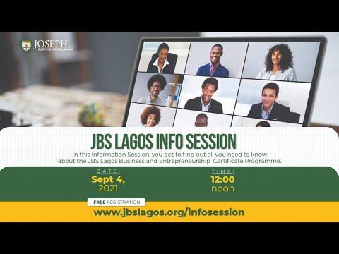 JBS Lagos Info Session