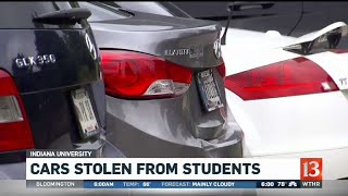 Students report their cars missing