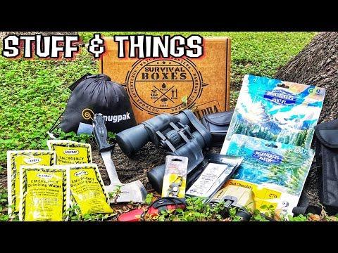 Survival Boxes | Aug 2018 | Dangerous Tools!