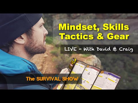 #066 - Survival Mindset / Skills / Tactics / Gear + MSK-1 Survival Knife - The Survival Show Podcast
