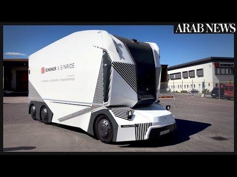 Driverless electric truck hits Swedish roads