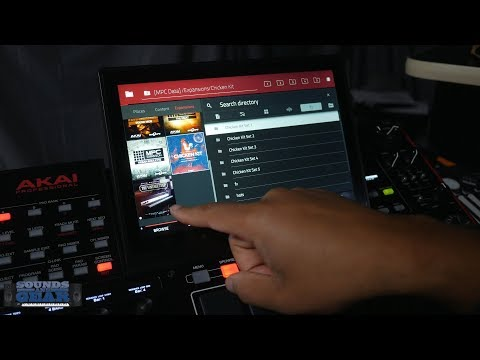 Akai MPC 2.1 - Export Expansions To MPC X & MPC Live Hardware