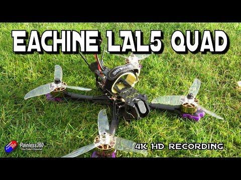Eachine LAL5 4K FPV Quadcopter - UCp1vASX-fg959vRc1xowqpw